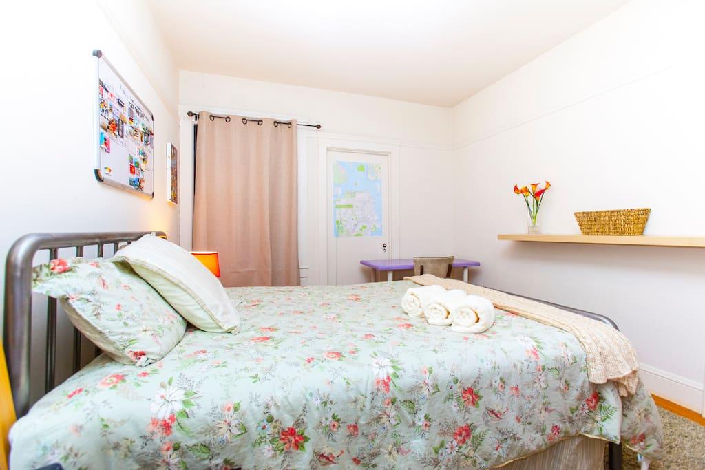 Spacious Room Near Golden Gate Park