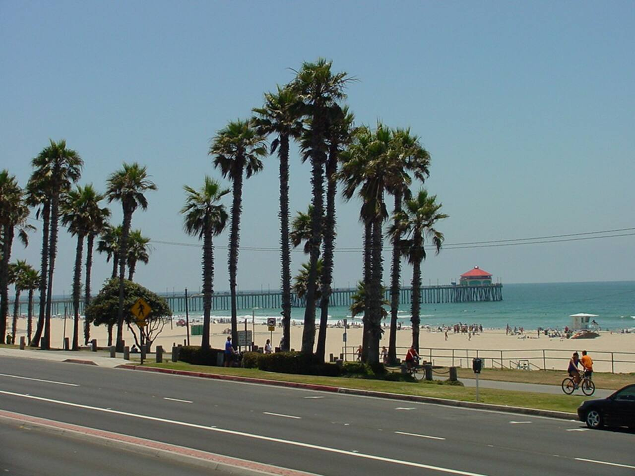 The Apartment is a five minute walk down main street to this beautiful and stunning beach setting!