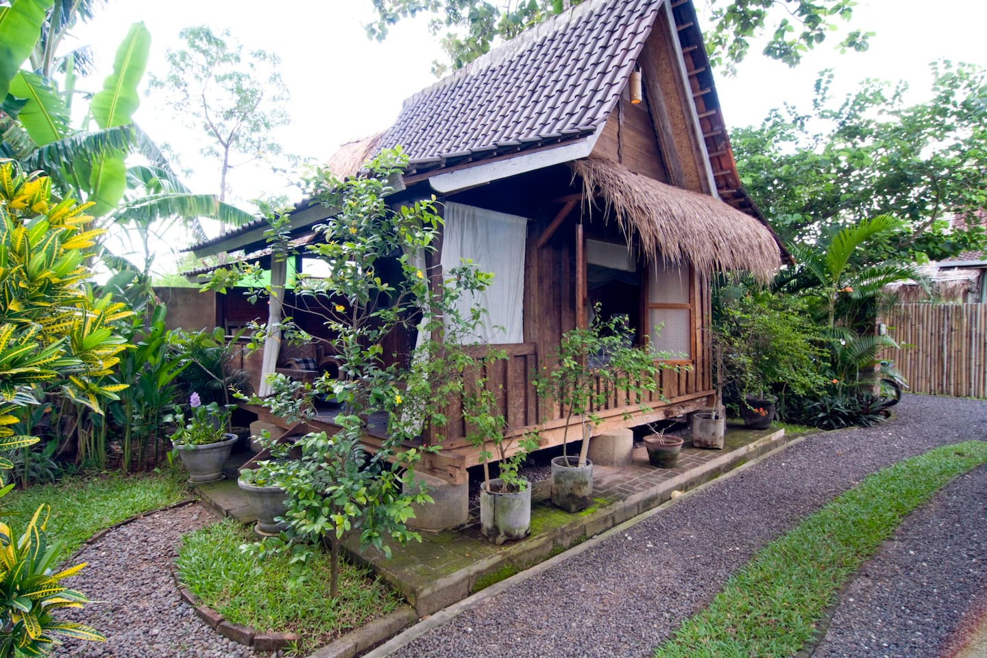 Javanese traditional barn house