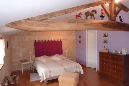 Chambre d'hôtes La Champêtre B&B -  CLION  - Bed & Breakfast