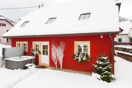 Doller Cottage****, Hot Tub, Ski Resort - Sewen - Villa