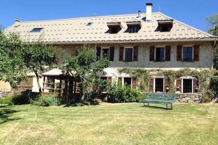Ancienne ferme plein sud, au calme - Enchastrayes - House