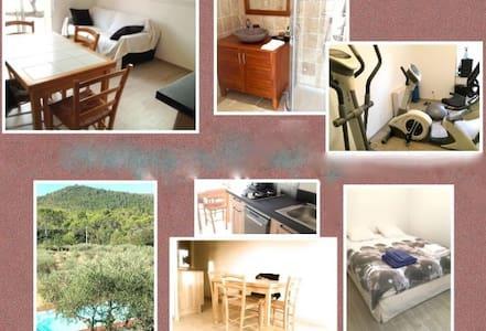 suite confortable, piscine et s. de sport - Penzion (B&B)