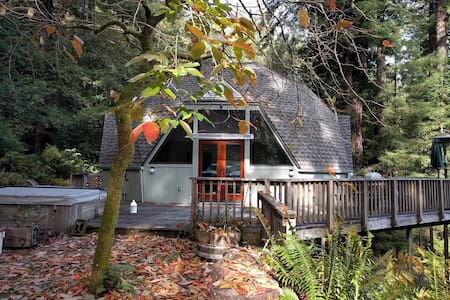 Spacious Redwood Dome Retreat in the Forest - Cazadero - Ház