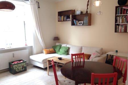 Cozy flat in Amager, close to Nyhavn/new bridge :) - Copenhagen - Apartment