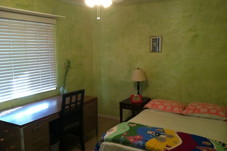 Large bedroom with queen size bed - Rowland Heights