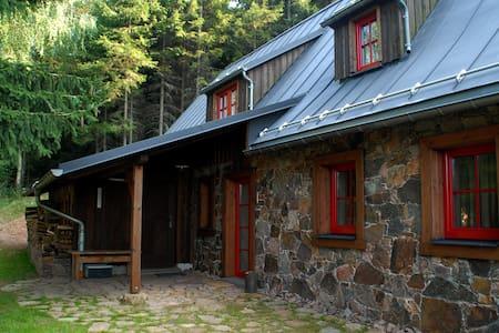 Gemütliche Bergbaude Schattenmorelle Geising - Huis