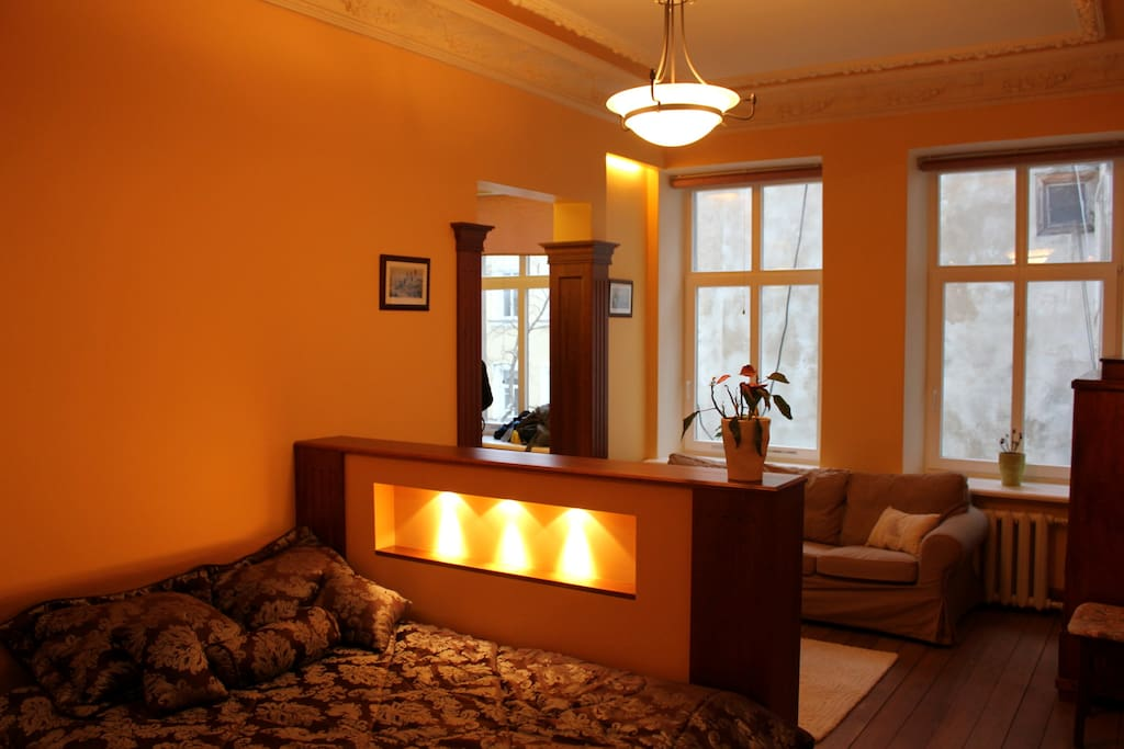 Apartment for 1-6 people in center