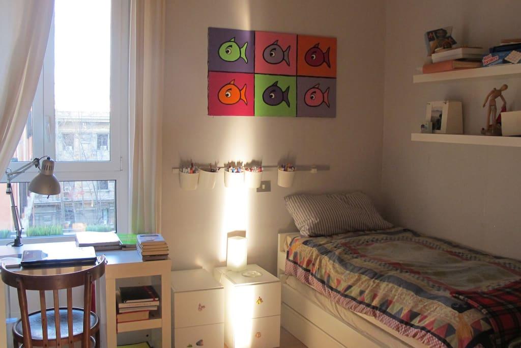 1 kid room
