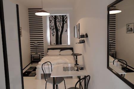 black&white room @artistcommunity - Dohna - Castle