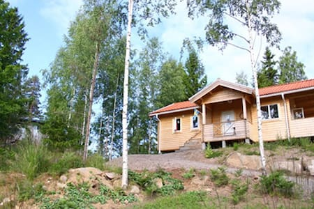 "Cabin ""Norrland"" right by the Lake - Cabin"