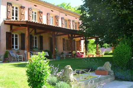 Delightful French Country Manor - Salvagnac