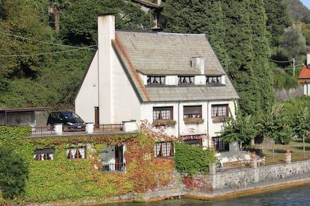 Stunning lake side Villa Lugano - San Mamete