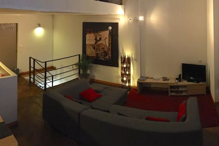 90 m2 3 chambres Lille Hyper Centre 7 personnes - Lille - Apartment