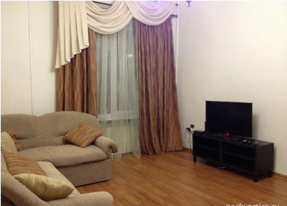 Nice 3 room apt in the quiet center