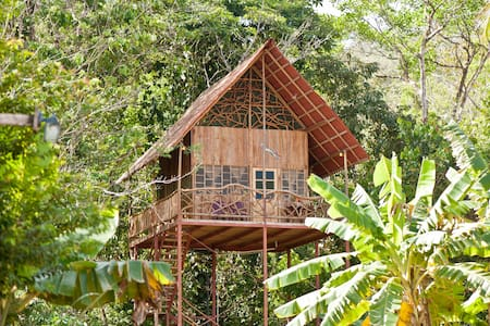 Room type: Entire home/apt Property type: Treehouse Accommodates: 4 Bedrooms: 2 Bathrooms: 1
