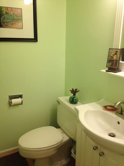 Half Bath -downstairs