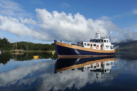 Converted Fishing trawler yacht - Inverness - Bateau