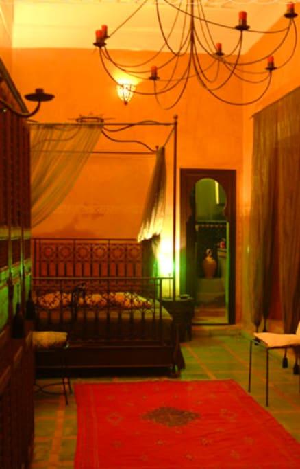 Riad Marrakech / Suite Ambre