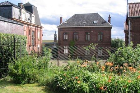 Gite rural near Valenciennes. Chez Céleste, 120 m2 - Hus