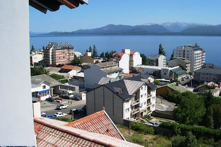 Excellent view on the main street - San Carlos de Bariloche - Apartment