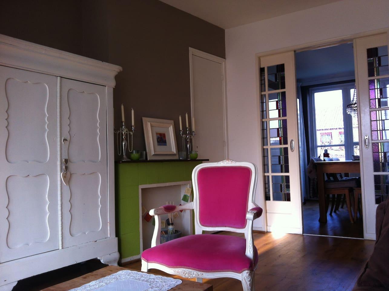 Vrolijk kleurrijk appartement op loopafstand van centrum Breda