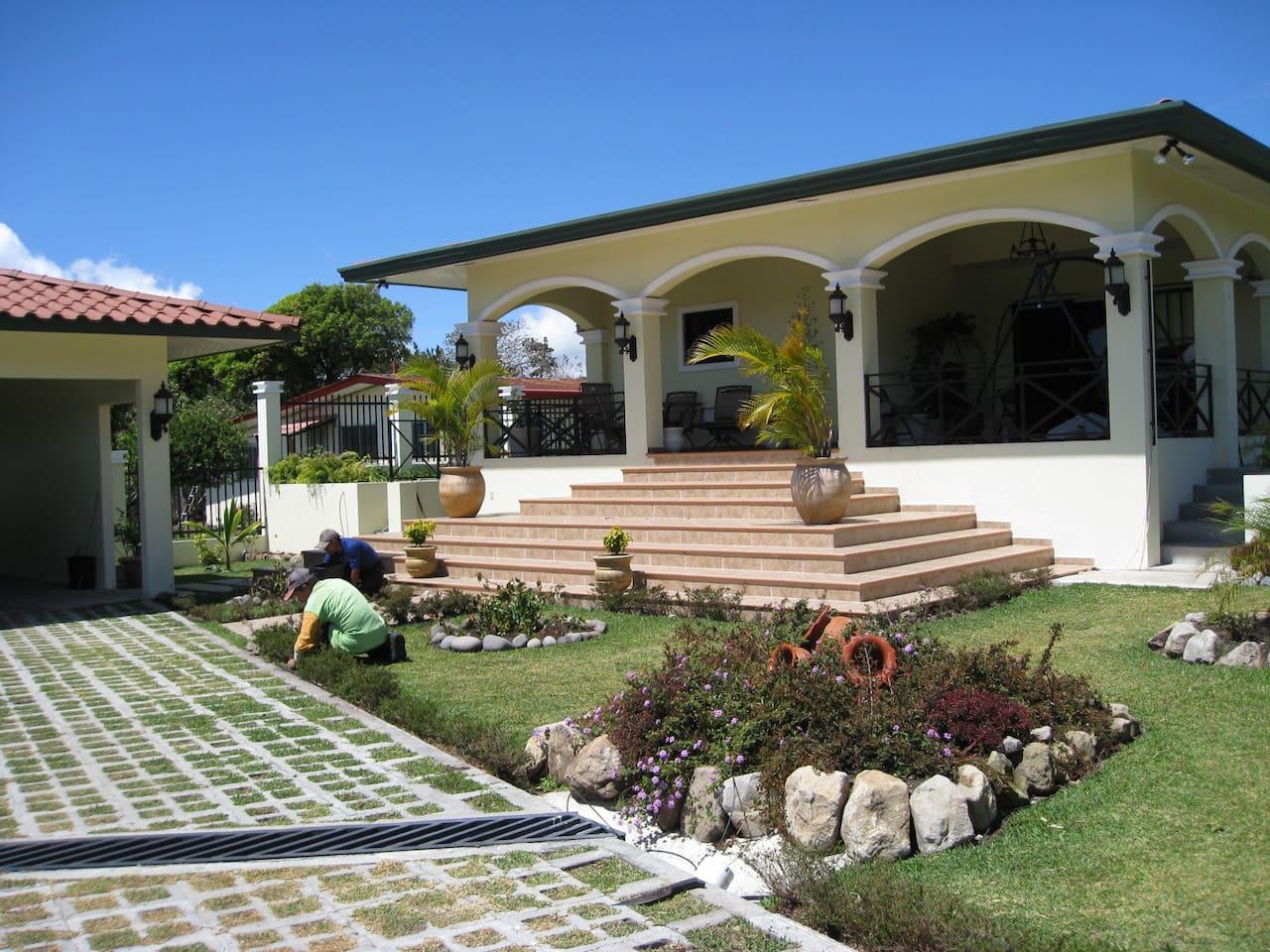 Front view of 4198 Las Mellizas, Alto Boquete