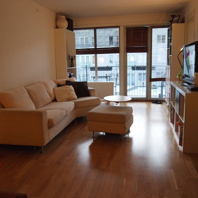 2 bedroom and a balcony - spacious