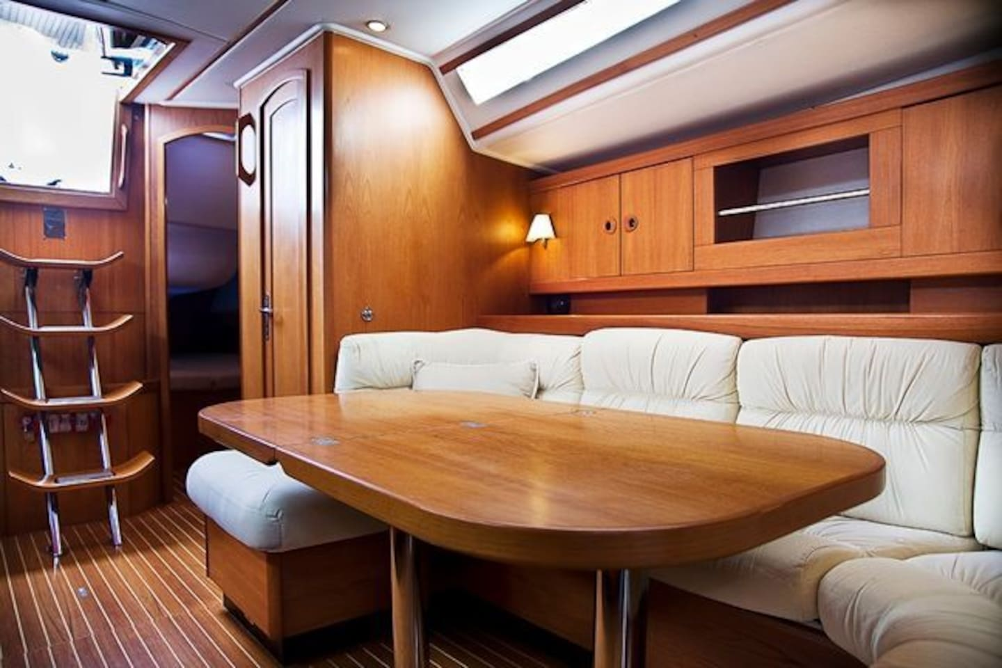 A luxury yacht could be yours for a night - or several.  No boating experience or licence required!