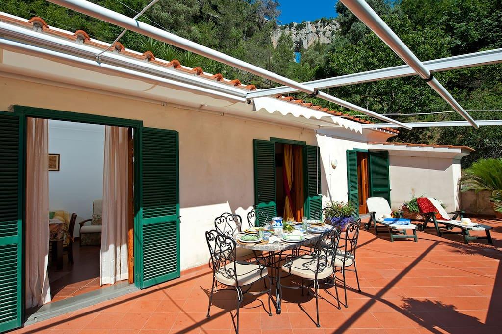 terrace's facilities