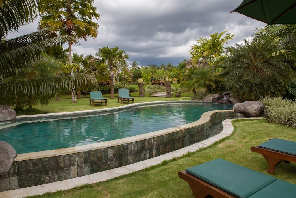 Ubud Green Paradise Large villa