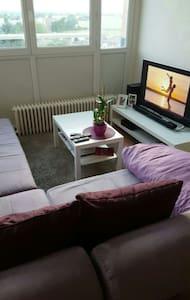 Chambre spacieuse et ensoleillée - Wattignies