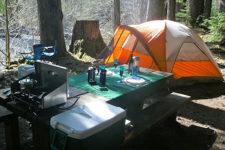 2 Man Basic Tent Camping Gear Only - Port Hadlock-Irondale - Stan