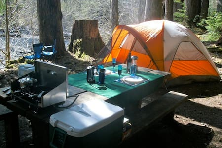 Deluxe Camping Package (Gear Only) - Tent