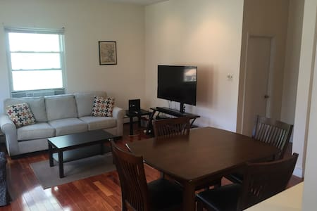 Spacious room in modern apt., steps from Mass Ave - Cambridge - Apartment