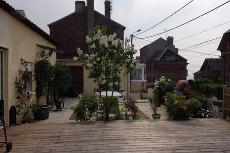 location maison terrasse face mer - Ault - Haus