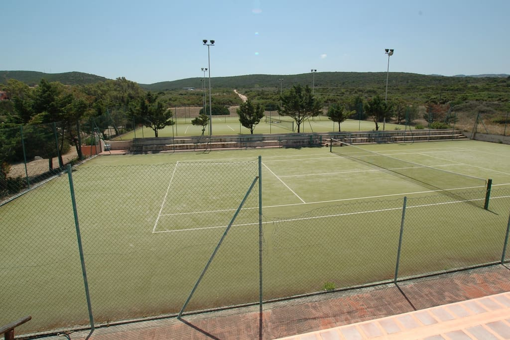 The Onsite Tennis Courts