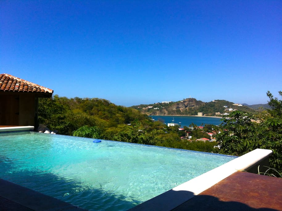 Enjoy the infinity pool that show cases the panoramic views of the bay.
