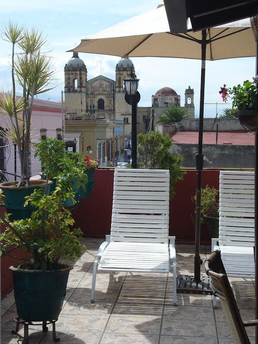 View of Santo Domingo from our terrace