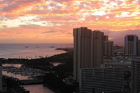ocean view in Waikiki - Honolulu - Apartment