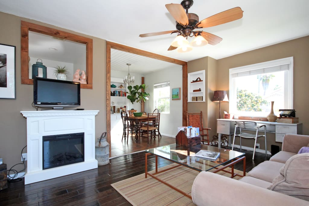 The dining room and living room make for great entertaining.