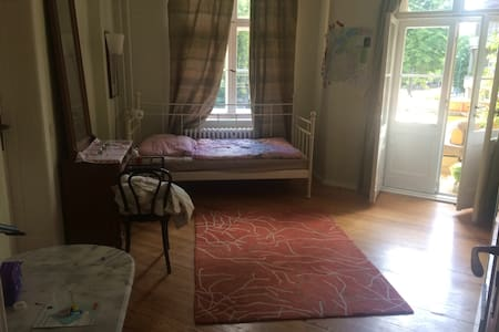 Beautiful room right across Park Sanssouci - Appartement