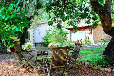 Preciosa casa en Cala Tuent - Haus