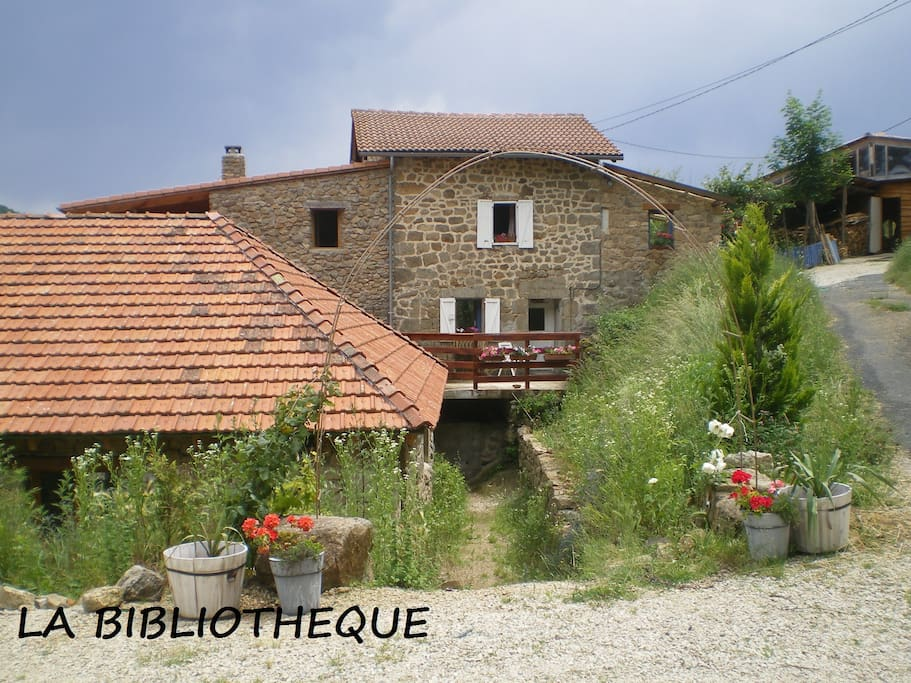 arrival at Ferme Les Costes in september