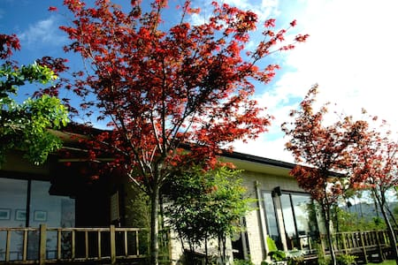 靜廬 (日式雙床,歐式景觀花園,客房超大玻璃景觀窗) - Ruisui Township