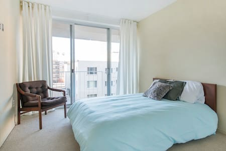 Private bedroom in lake view condo. - Condominium