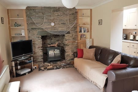 Driftwood Self Catering Holiday Cottage in Peel - Hus