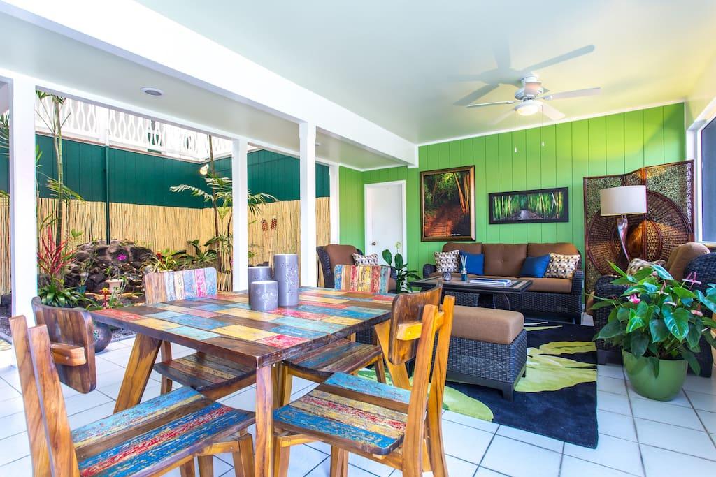 Big Island Retreat Pineapple room