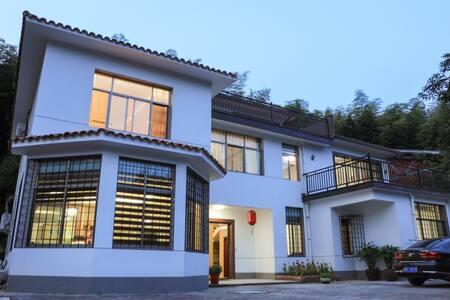 竹海吴院独立山景别墅,有五个房间,最多可容纳10人入住 - 宜兴