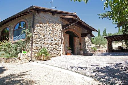 las cicas stonecottage florencehill - San Jacopo Al Girone - Cabin